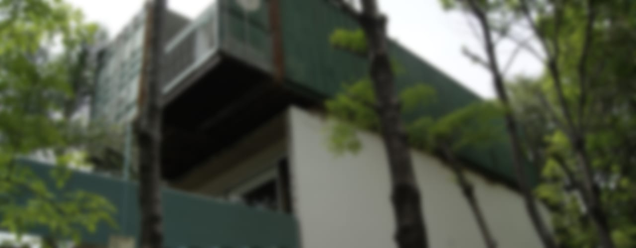 Casas de estilo moderno por TARE arquitectos