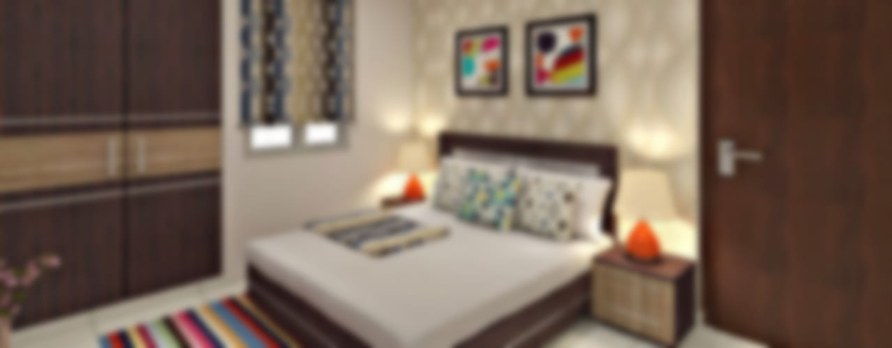 Guest Bedroom 2:  Bedroom by Design Consultant