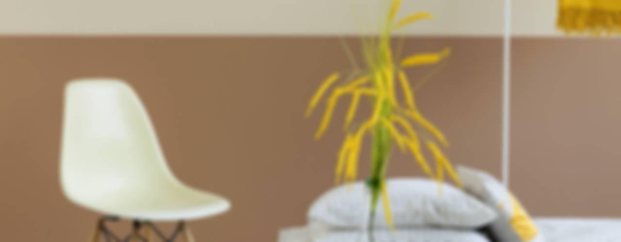 Birbirine Yakışan Renkler Ile Iki Renkli Duvar Boyama Stilleri