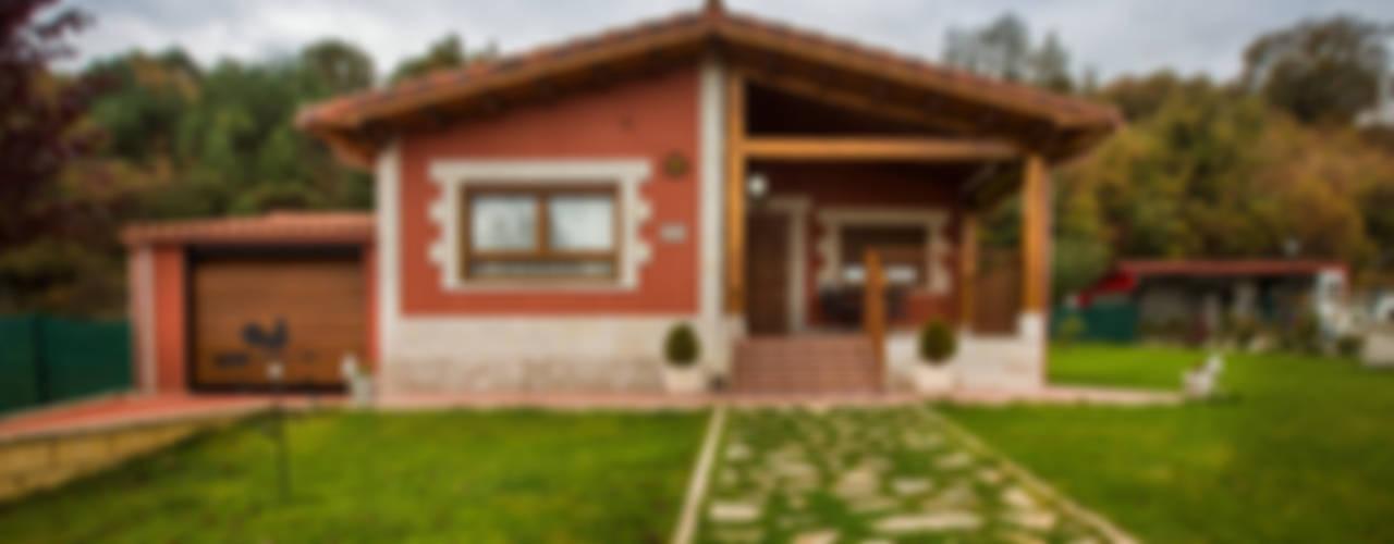 Casas de estilo  por GRUPO EUROCASA MODULAR