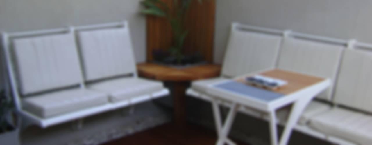 Patio Interno de Claroscuro Diseño Interior