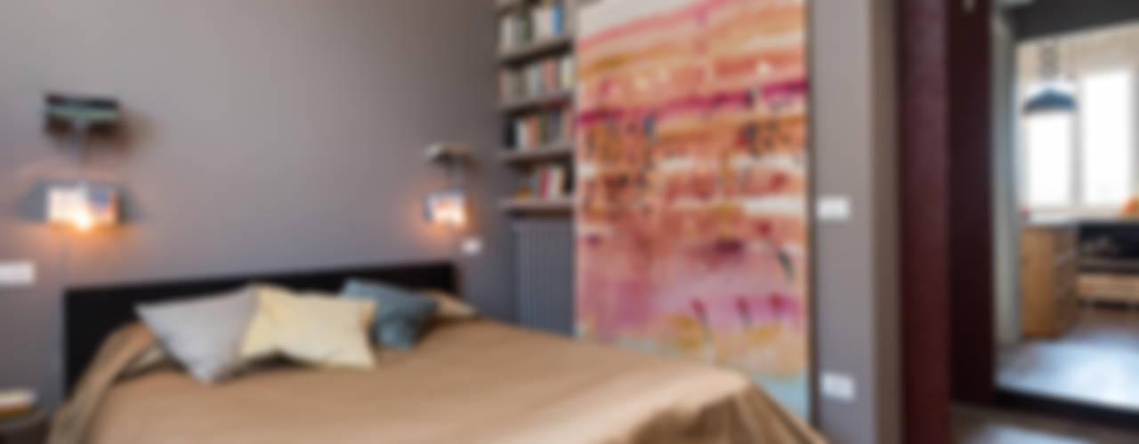 SCL_FLAT Caterina Raddi Camera da letto in stile industriale
