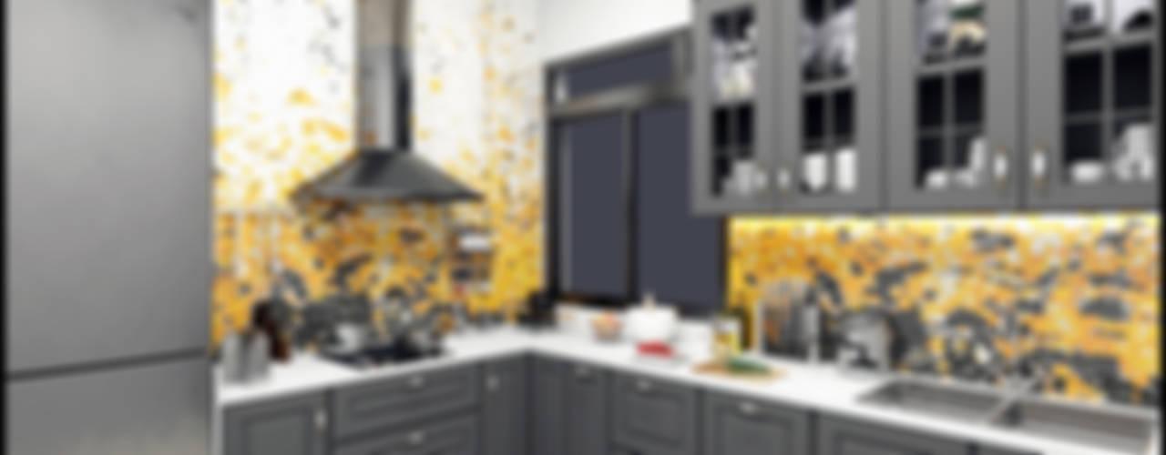 KITCHEN:  Kitchen by VISIONARY DESIGN