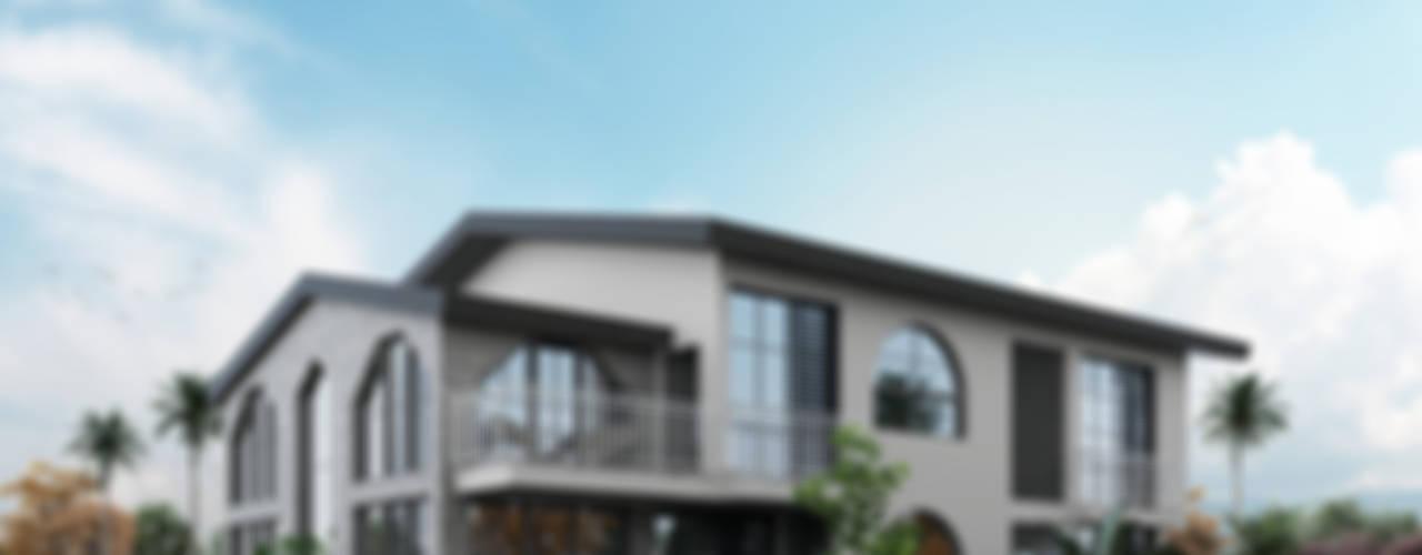 現代房屋設計點子、靈感 & 圖片 根據 ACS Mimarlık 現代風