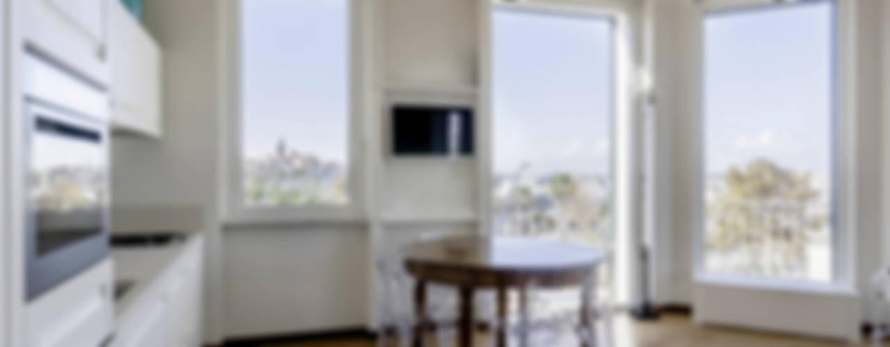 Appartamento Privato Sala da pranzo moderna di Officina29_ARCHITETTI Moderno