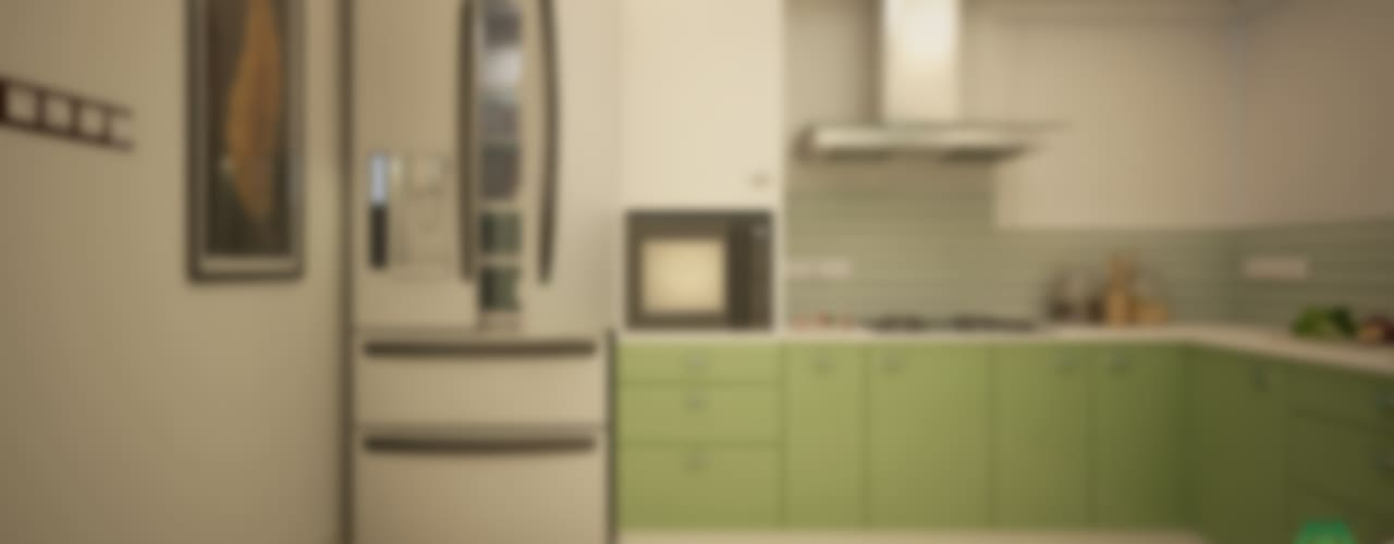 Eye Catching...:  Kitchen by Premdas Krishna