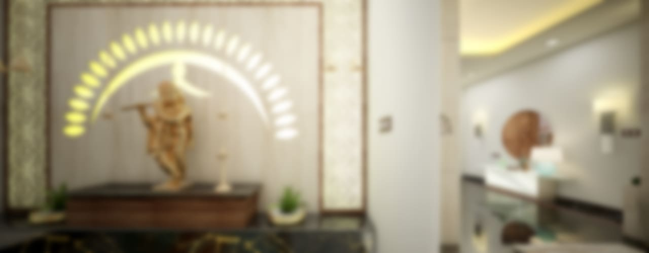 Feel Fresh with Vibrant Design:  Living room by Premdas Krishna