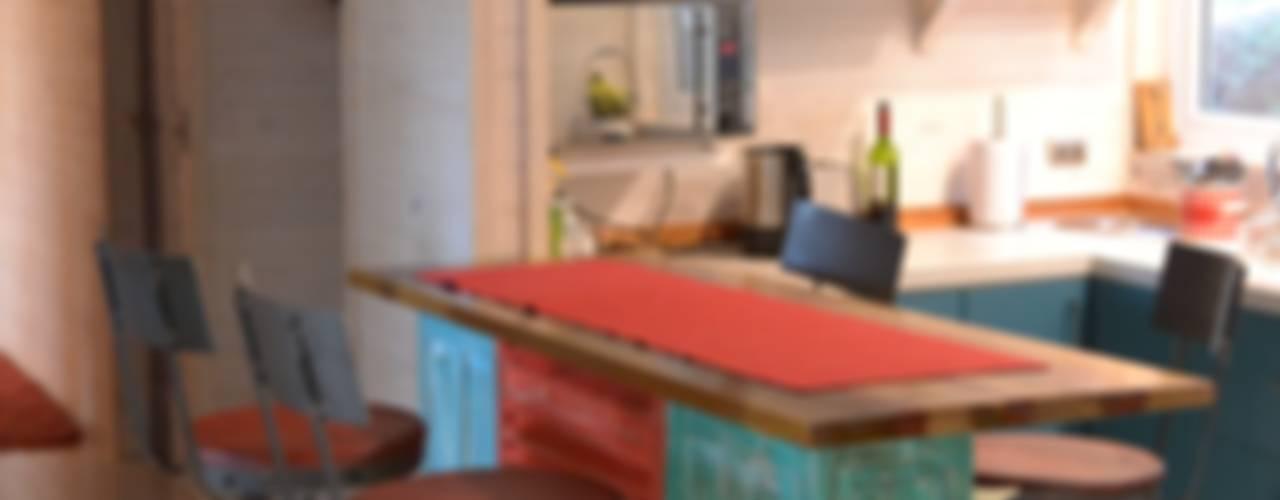 Cocinas de estilo  por Kanda arquitectos