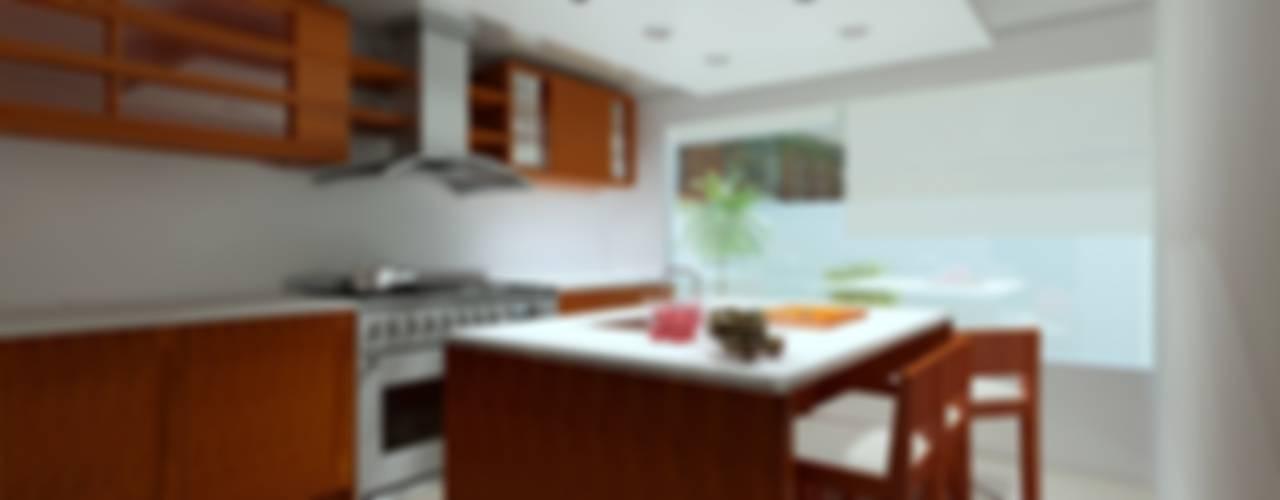 Projekty,  Kuchnia zaprojektowane przez CouturierStudio