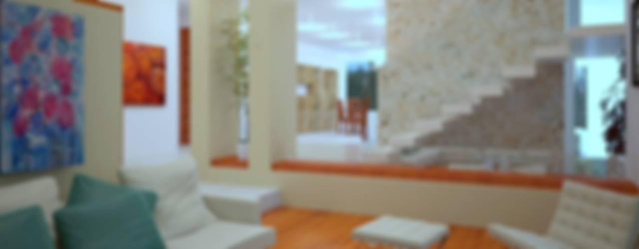 Projekty,  Korytarz, przedpokój zaprojektowane przez CouturierStudio