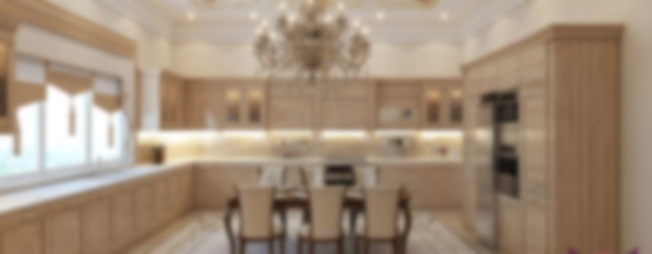 مطبخ تنفيذ Luxury Antonovich Design