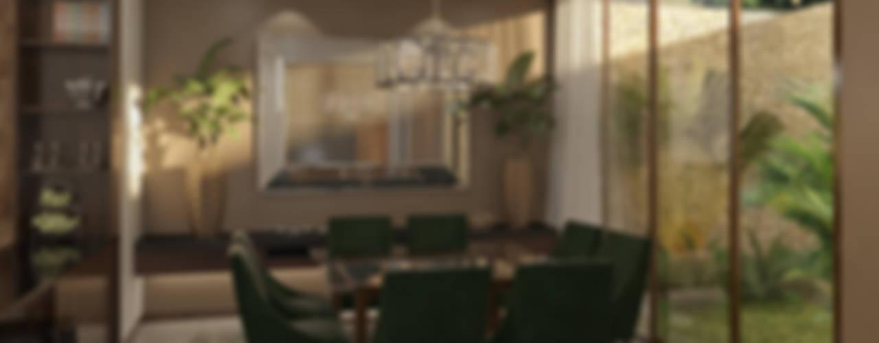 غرفة السفرة تنفيذ Taller Interno, إستوائي