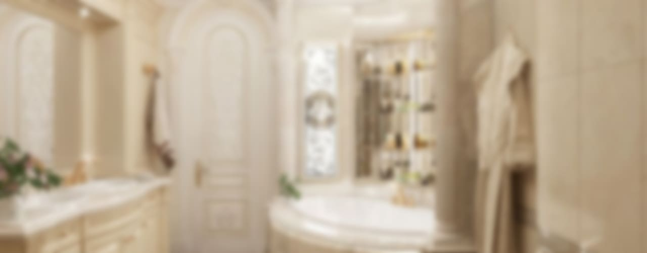 حمام تنفيذ Luxury Antonovich Design