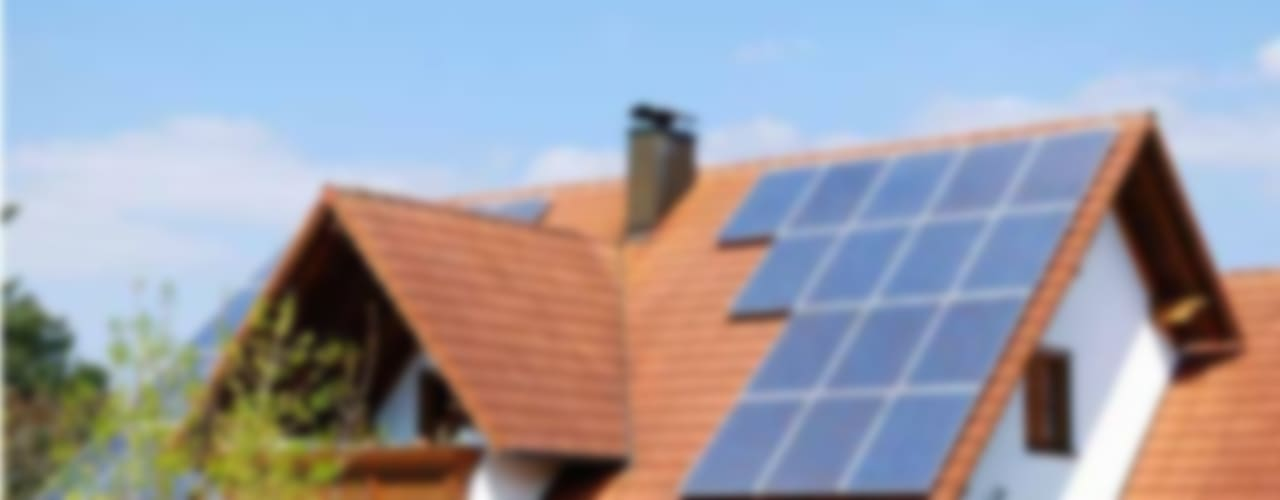 Instalacion en Techos: Casas de estilo  por Energías Sustentables Soleon