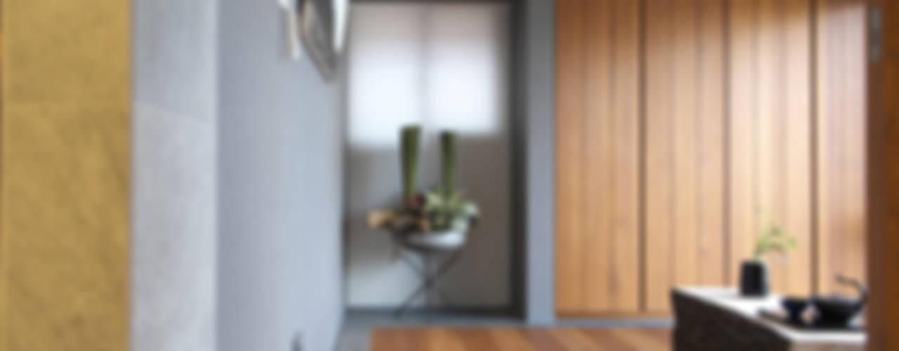 Ruang Studi/Kantor Modern Oleh 構築設計 Modern
