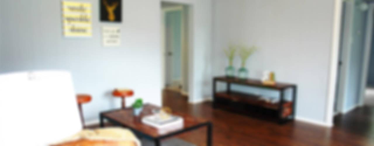 Phòng khách phong cách công nghiệp bởi Noelia Ünik Designs Công nghiệp