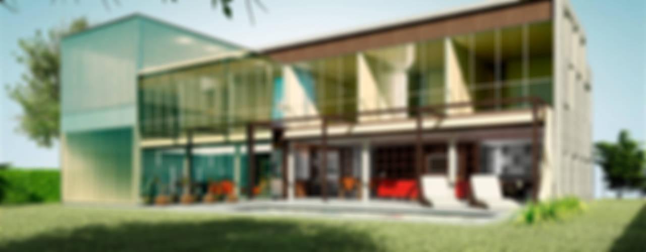 CASA RBN (2015): Casas de estilo  por unoenseis Estudio