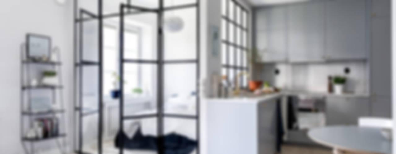 8 idee geniali per piccoli appartamenti for Piccoli appartamenti di design