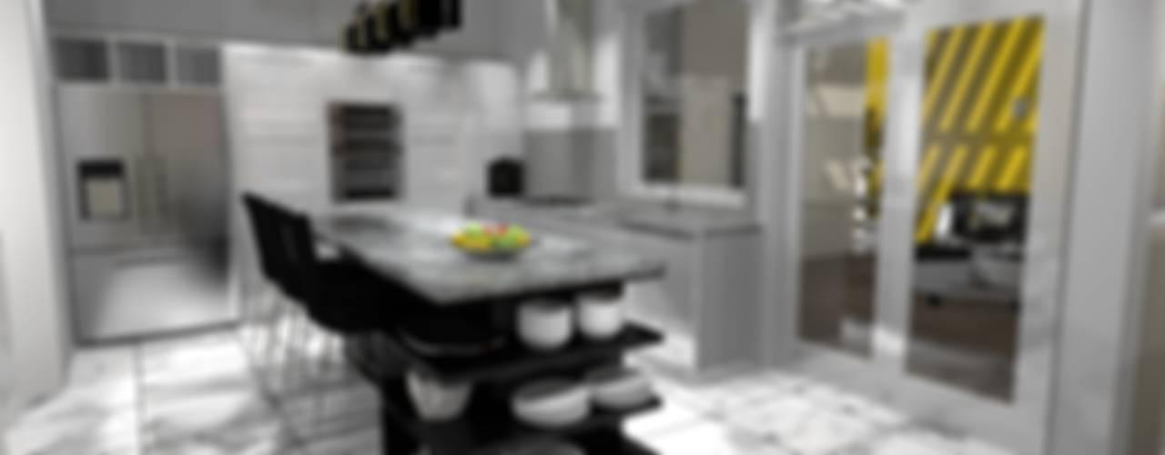 Kitchen by Diseño de Locales, Classic