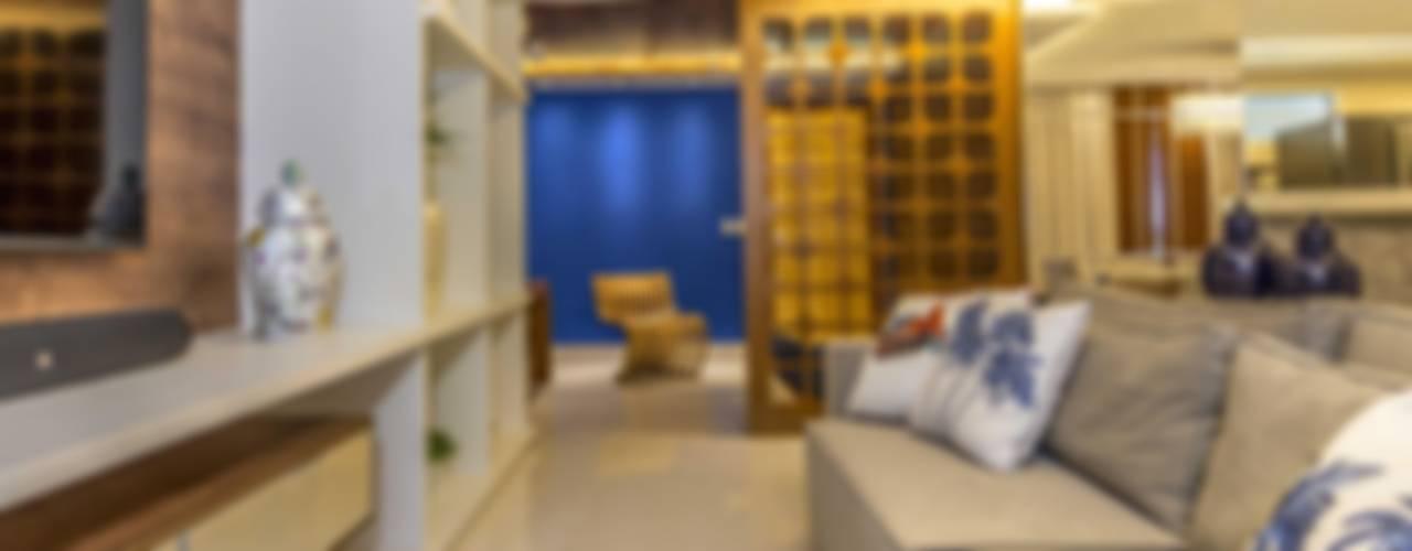 Sala de estar/Home:   por Criare Móveis Planejados