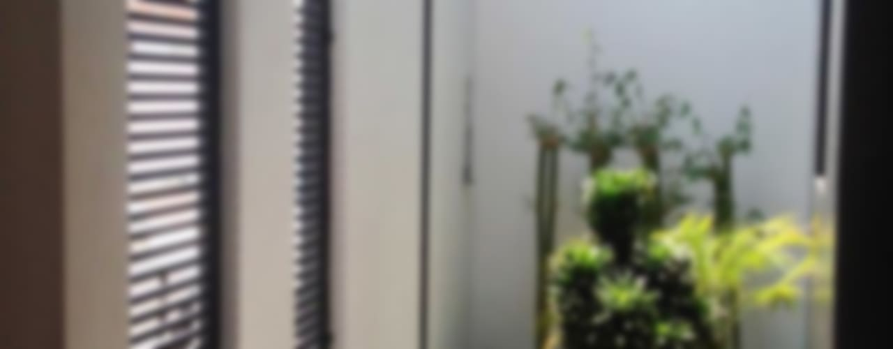 Jardines de estilo minimalista por Estudio Chipotle