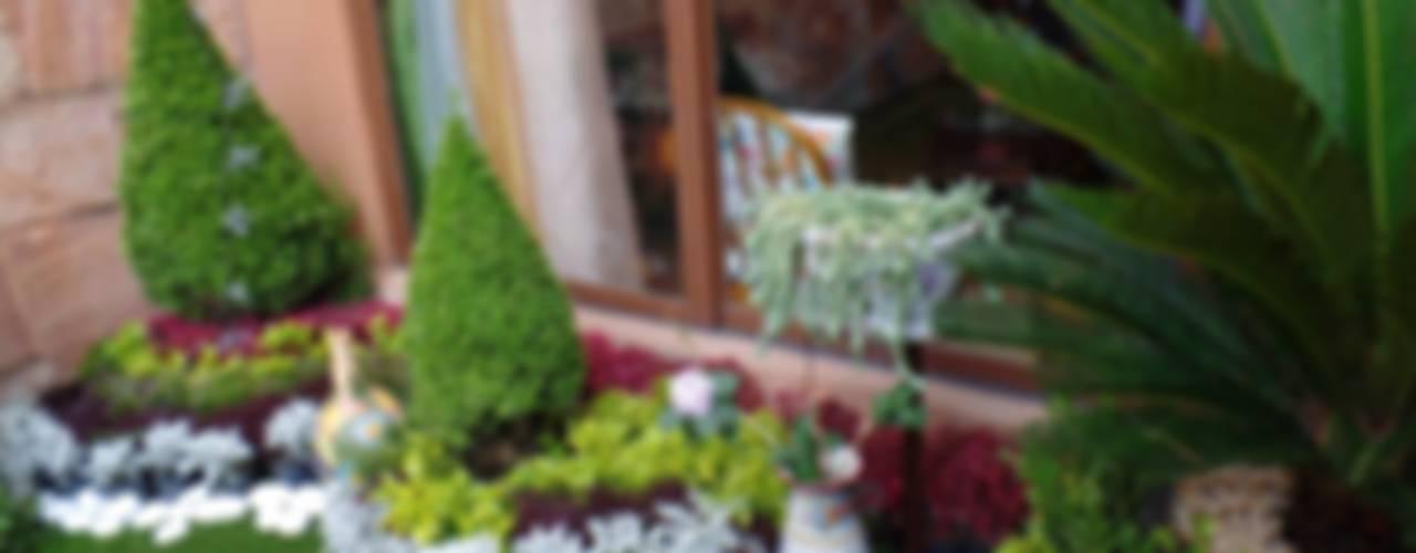 paisajismo . muros verdes jardines. : Jardines de estilo  por 3HOUS