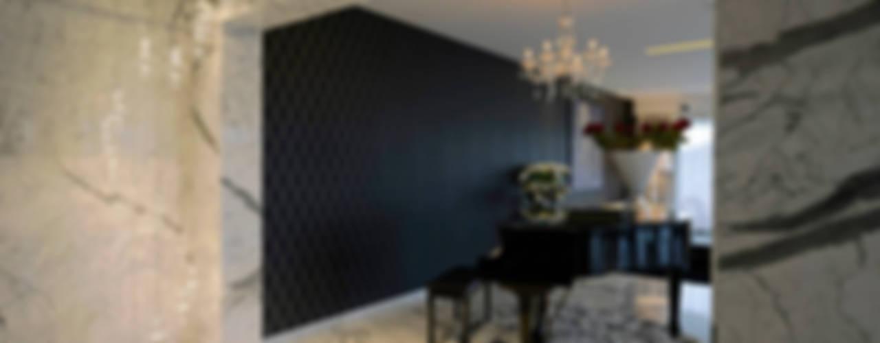 Villas Modern living room by Grandeur Interiors Modern