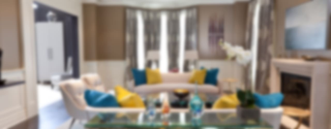 Bright Contemporary Home Modern living room by Douglas Design Studio Modern