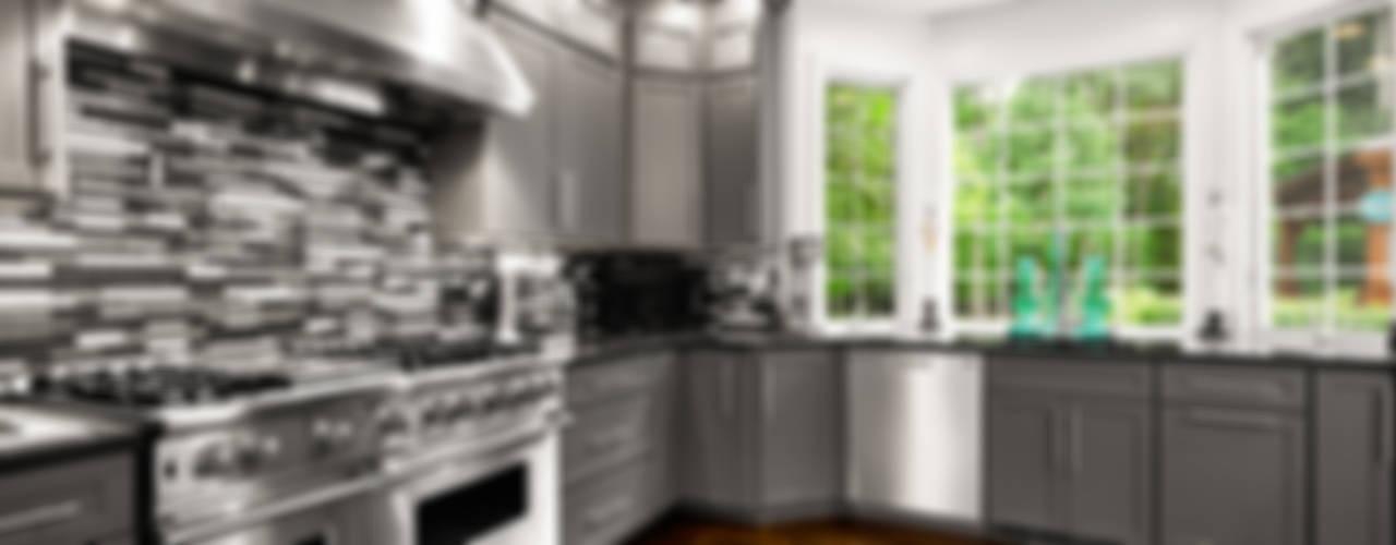 eclectic Kitchen by Main Line Kitchen Design