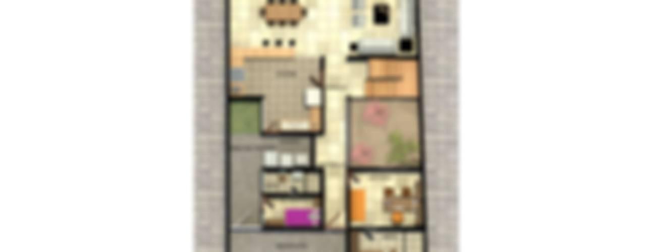 LOMAS DE JURIQUILLA 45: Casas de estilo moderno por Protocolo Ingeniería & Arquitectura