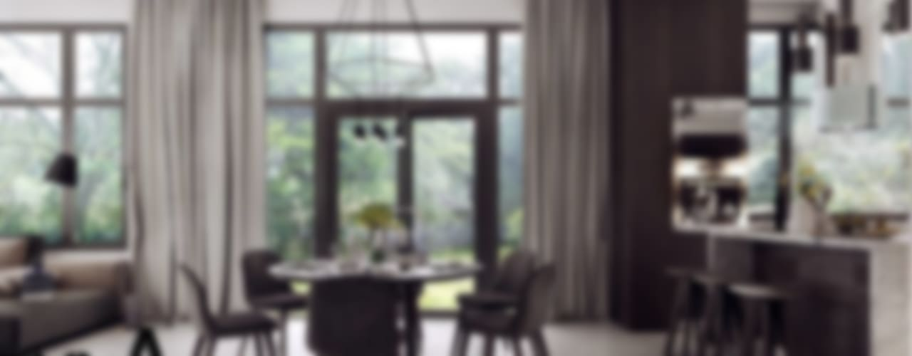 Wellness Outlook Modern Oturma Odası MENTAL ARC DESIGN Modern