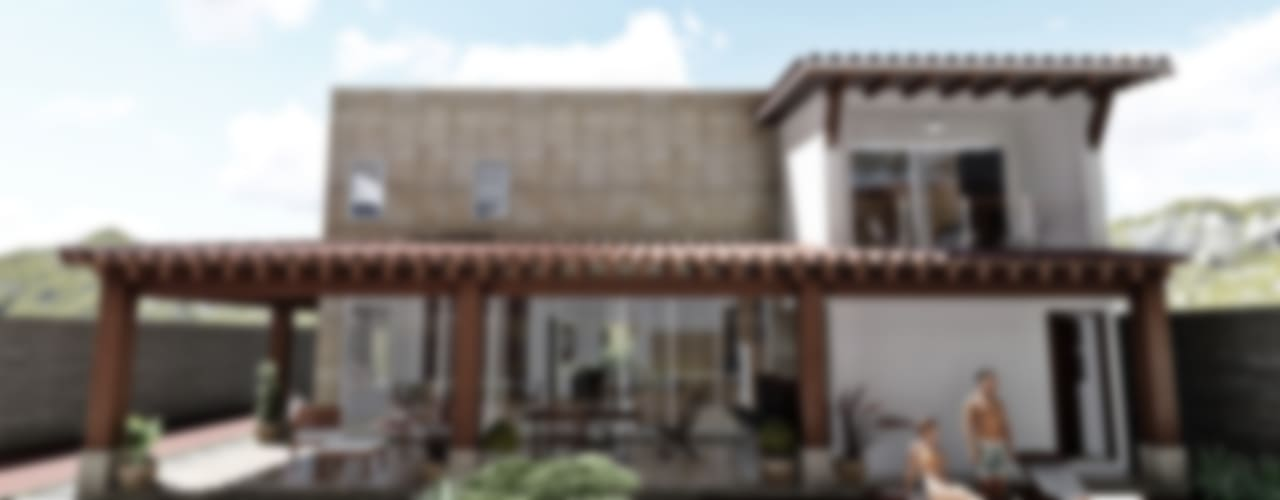 Casa Constantino Casas mediterráneas de IAD Arqutiectura Mediterráneo