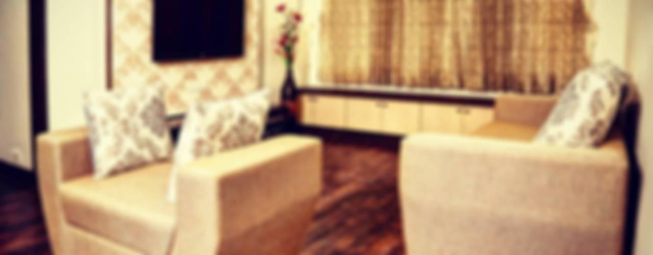 Minimalist living room by SUMEDHRUVI DESIGN STUDIO Minimalist