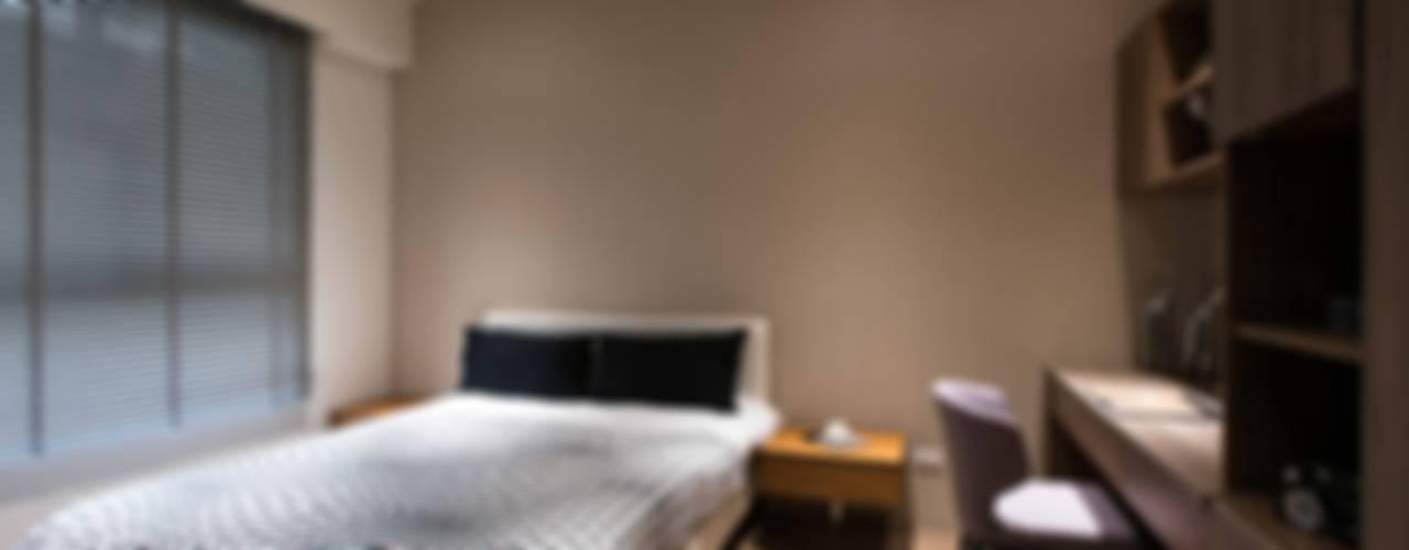Moderne Schlafzimmer von 立禾空間設計有限公司 Modern