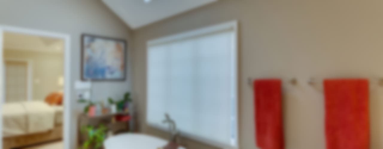 Universal Design Master Suite Renovation in McLean, VA:  Bathroom by BOWA - Design Build Experts