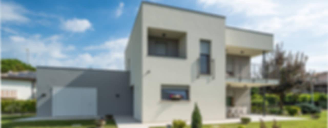 Progettazione casa moderna in bioarchitettura a venezia for Casa moderna venezia