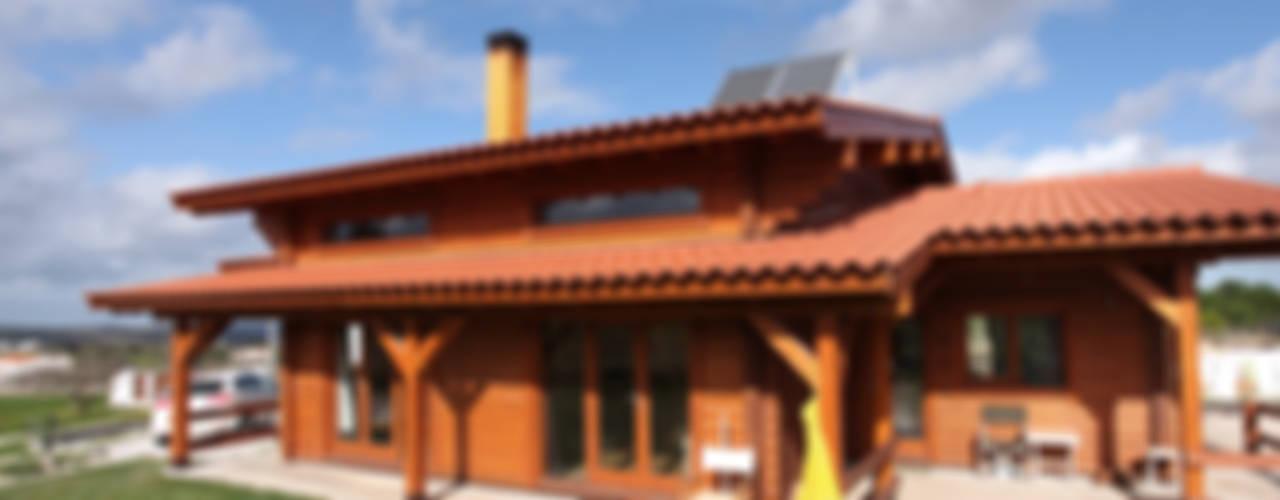 RUSTICASA Rumah kayu Parket Wood effect