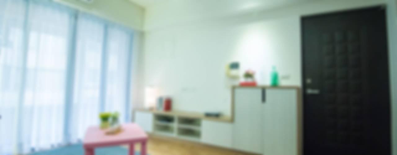 清新~簡約宅 (台北) 根據 寬軒室內設計工作室