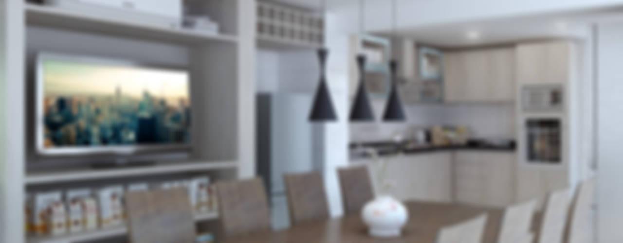 COCINA MANCILLA: Cocinas equipadas de estilo  por AOG SPA