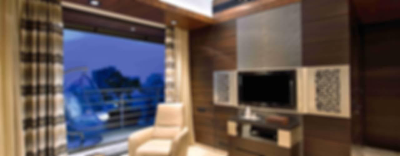 Madhuniketan 2:  Bedroom by SM Studio
