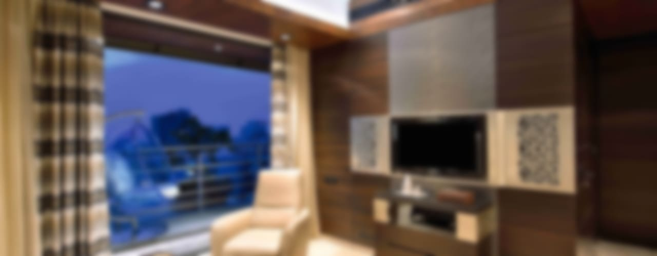Madhuniketan 2: modern Bedroom by SM Studio