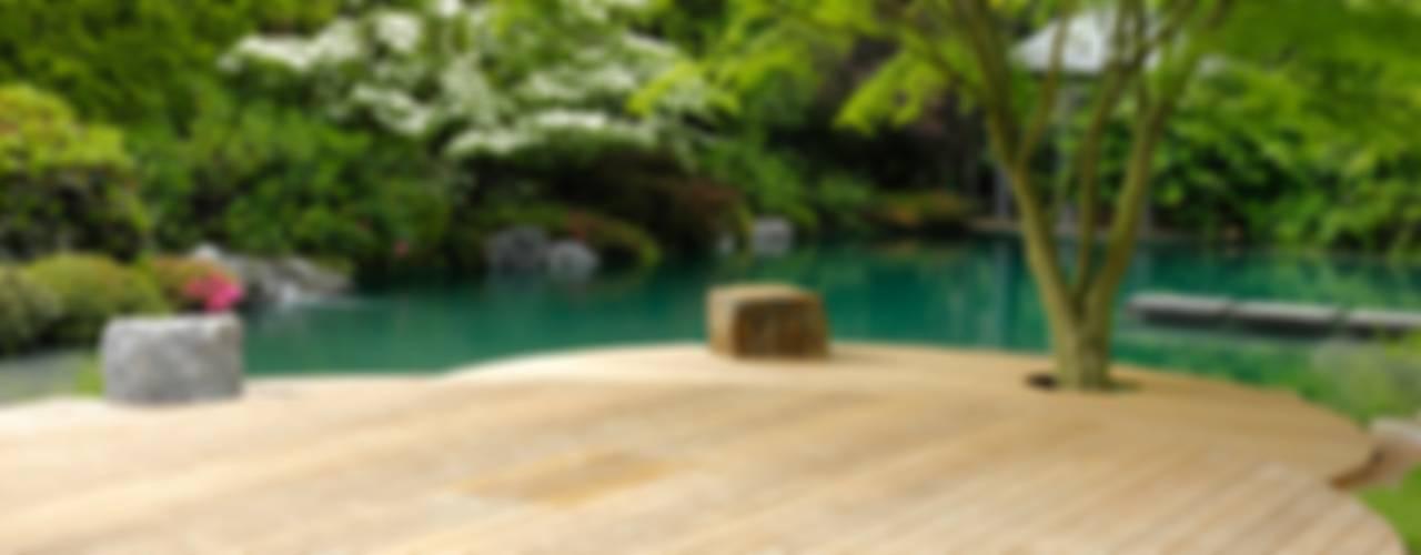 بركة مائية تنفيذ Jürgen Kirchner Wasser + Garten, كلاسيكي