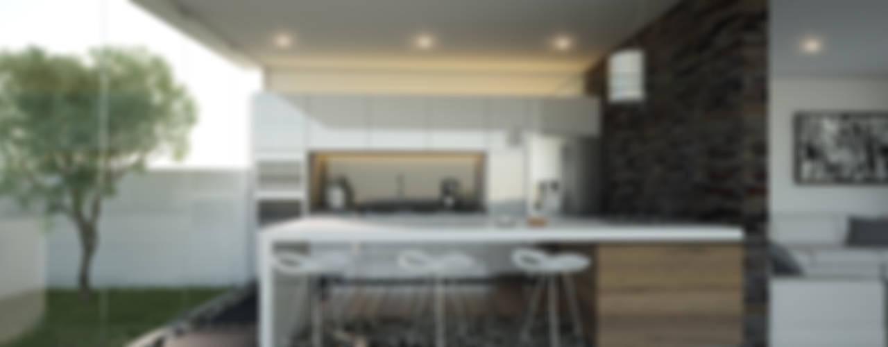 Casa Valle Verde Cocinas minimalistas de 21arquitectos Minimalista