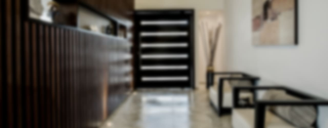 Pasillos, vestíbulos y escaleras de estilo moderno de Constructora e Inmobiliaria Catarsis Moderno