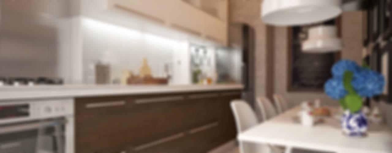 50GR Mimarlık – halkalı_örnek daire:  tarz Mutfak