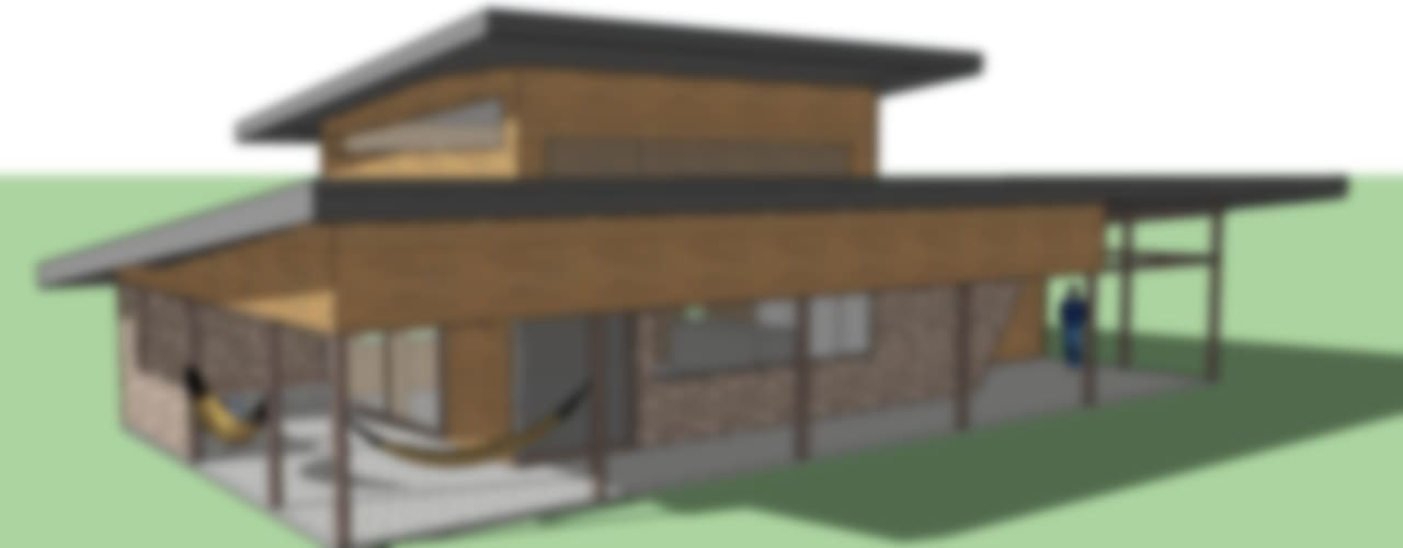 QUINCHO Pucón de AEG Arquitectura, Asesoría y Construcción. Moderno
