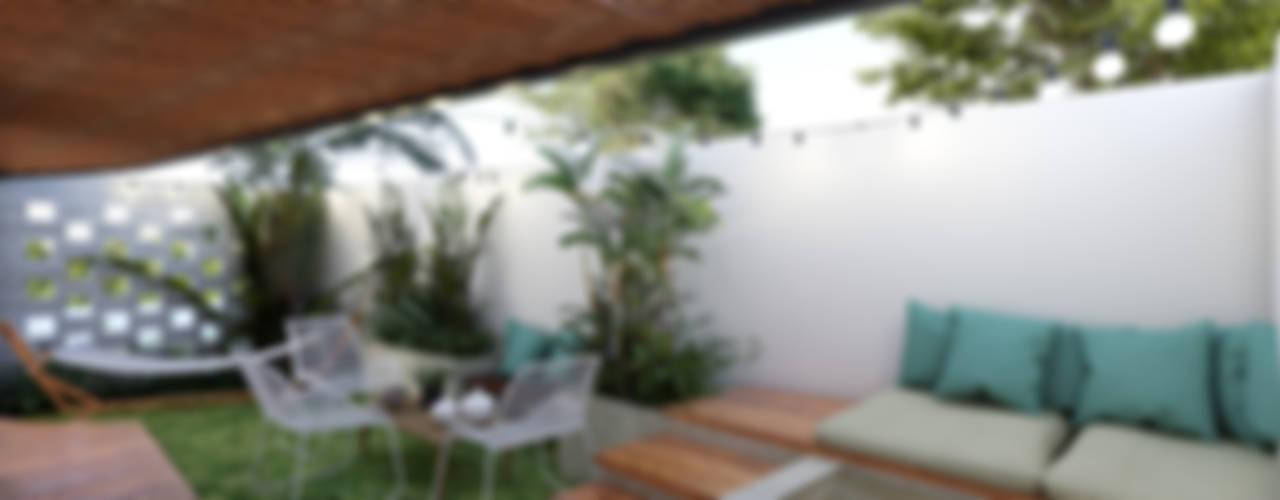Uaxac Condos Balcones y terrazas tropicales de Taller Veinte Tropical