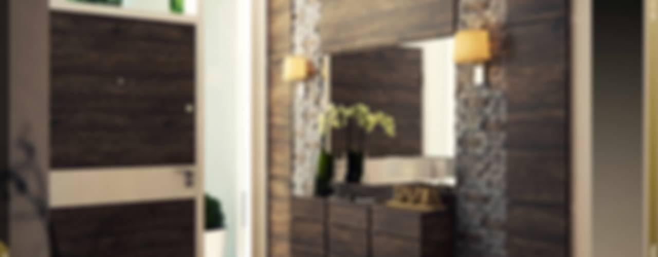 Pasillos y recibidores de estilo  por Ori - Architects