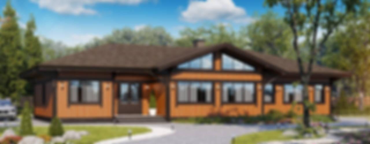 Уют: Деревянные дома в . Автор – Naturi