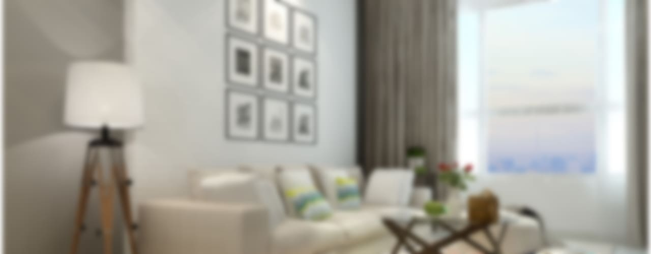 غرفة المعيشة تنفيذ Công ty TNHH TMDV Decor KT
